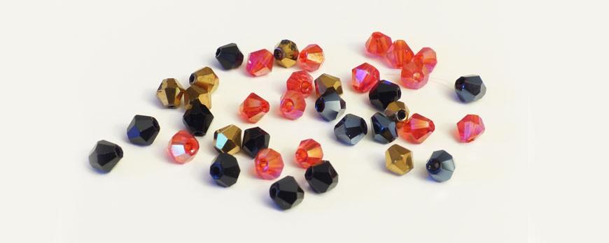 Cristales tallados para tocado de noche